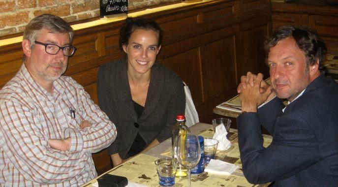 André Taymans, Carole Weyers & Jean-Philippe Beaujean, de Beaujean Pictures & Associates, producteur du film.